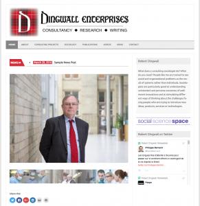 Robert Dingwall Website